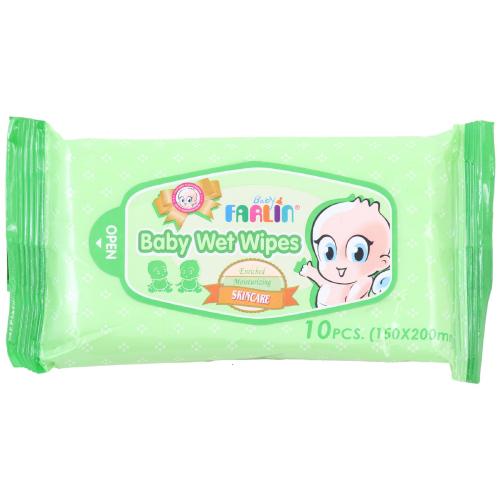 Farlin Baby Wet Wipes - Skincare (10pcs)