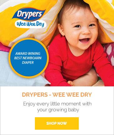 Drypers wee wee Dry 15% OFF