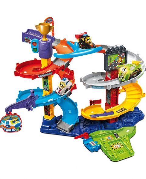 Vtech toot-toot drivers twist & race tower mobile