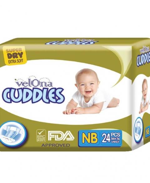 Velona Cuddles Size NB 24 Pcs Pack