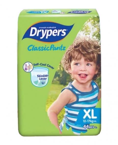 Drypers Classic Pant Size XL 44 pcs pack