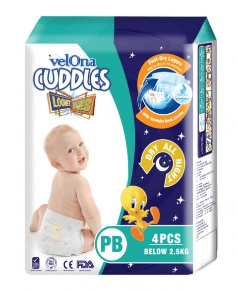 Velona Cuddles Looney Tunes PB , Pre Bron, Preborn, Premature
