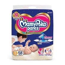 Mamypoko Pants S 58Pcs