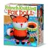 4M French Knitting Fox Doll