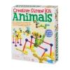 4M-Creative straw kits animals