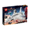 lego® marvel spider-man stark jet and the drone attack