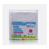 Fair Baby White Nappy 22x22 With Colour Edging  6pcs Pack