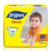 Drypers Classic Size M 72 Pcs Pack