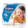 Drypers Wee Wee Dry Size M 74 Pcs Pack