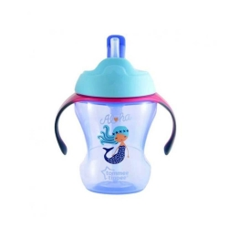 tommee tippee easy drink straw cup 9m+ - 230ml