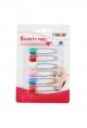 FARLIN Safety Pin 6 Pcs Card