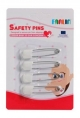 Farlin Safety Pins 4 pieces card