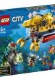 lego® city ocean exploration submarine
