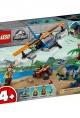 lego® jurassic world velociraptor: biplane rescue mission