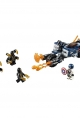 lego® marvel avengers captain america: outriders attack