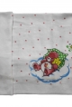 Velona Baby Towel Prints In White Background Size 40 X 26